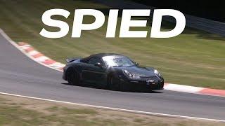 2019 Porsche 911 Speedster Spy Video