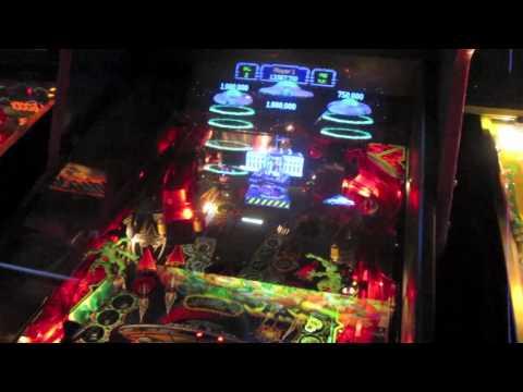 Revenge From Mars Review - RFM - Bally Pinball 2000