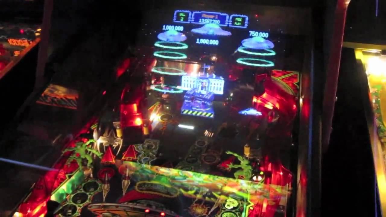 Revenge From Mars Review - RFM - Bally Pinball 2000 - YouTube