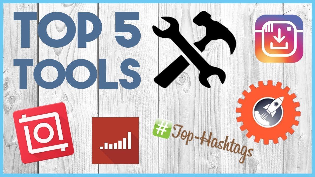 😎 TOP 5 INSTAGRAM TOOLS - 5 TOOLS TO HELP YOU GROW ON INSTAGRAM 😎