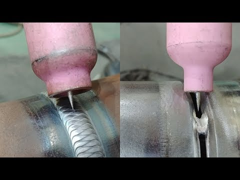 Tig welding Walking The Cup pipe welding (2 1/2inch sch80 carbon steel pipe)