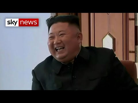 North Korea: First state appearance of Kim Jong Un disproves rumours