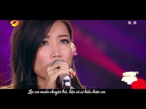 Vietsub I'm A Singer 3 [Chinese] A Lin - Em chờ đến độ hoa cũng đã úa tàn 我等到花兒也謝了