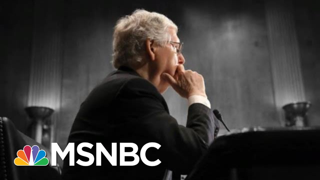 McConnell Takes 'Moscow Mitch' Nickname Home To Kentucky For August Recess | The 11th Hour | MSNBC
