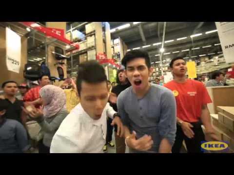 Flash mob Malaysia IKEA   Ohsempella & Friends