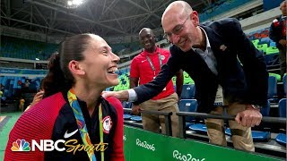 Sue Bird Details Basketball Career, COVID In Seattle, Gold Medals (FULL INTERVIEW) | NBC Sports