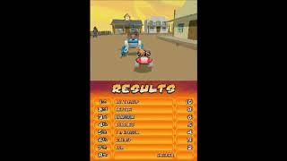 Cartoon Network Juego de Carreras de la parte 3 Super powerpuff girl Nintendo DS versio