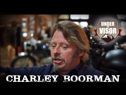 Charley Boorman, full 'Under the Visor' .