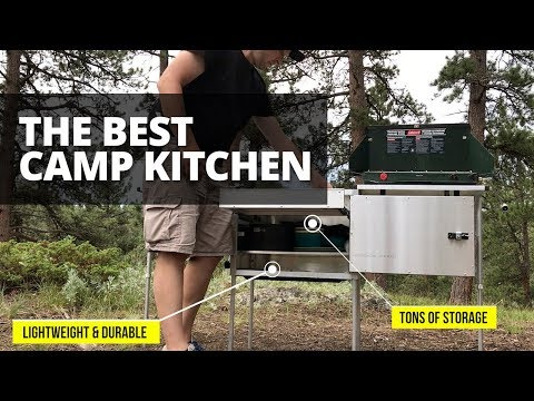 The Best Camp Kitchen | Trail Kitchens Features and Setup