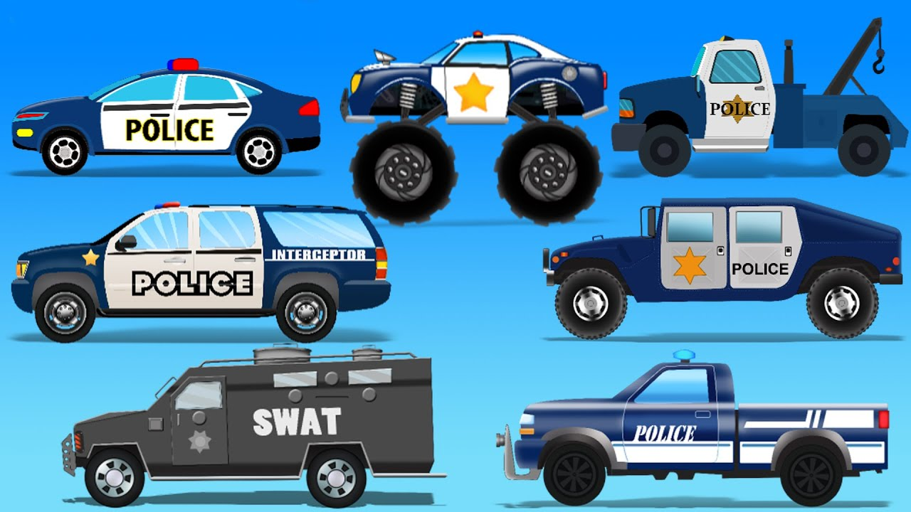 Street Vehicles Police Cars