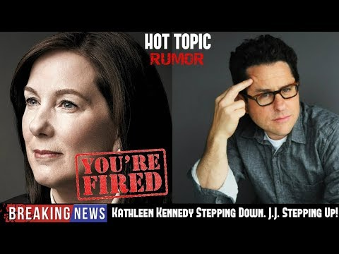 Download Youtube: Kathleen Kennedy Fired From Lucasfilm & Disney over Last Jedi & Solo Bomb - Rumor on HOT TOPIC