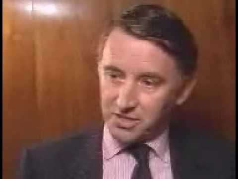 UK General Election 1987 - The Alliance Unveils Campaign Battlebus