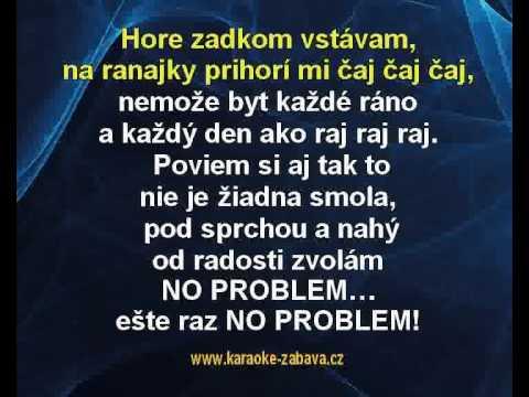 No problem - Noga, Skrúcaný Karaoke tip