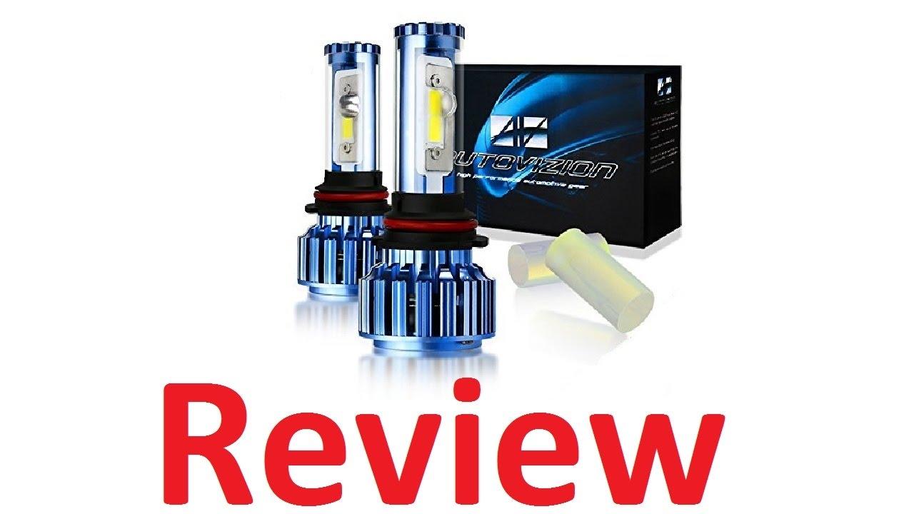 Autovizion 9007 Led Headlight Bulbs Review