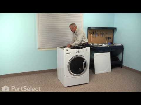 Washing Machine Repair - Replacing the Water Inlet Valve (GE Part # 1019151)