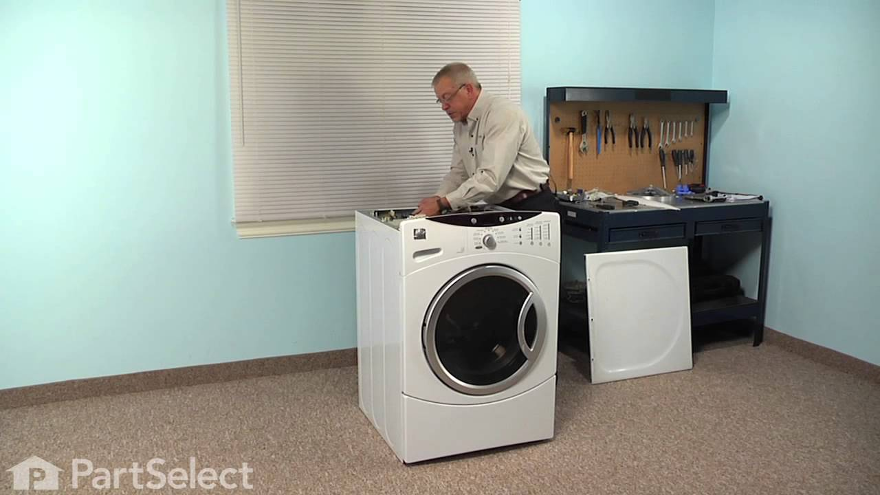 Washing Machine Repair - Replacing the Water Inlet Valve (GE Part # on