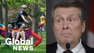 Coronavirus outbreak: Toronto mayor, top doctor address COVID-19, Trinity Bellwoods, heatwave | FULL