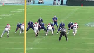 Montclair State Football Highlights vs. CNU - 9/22/18