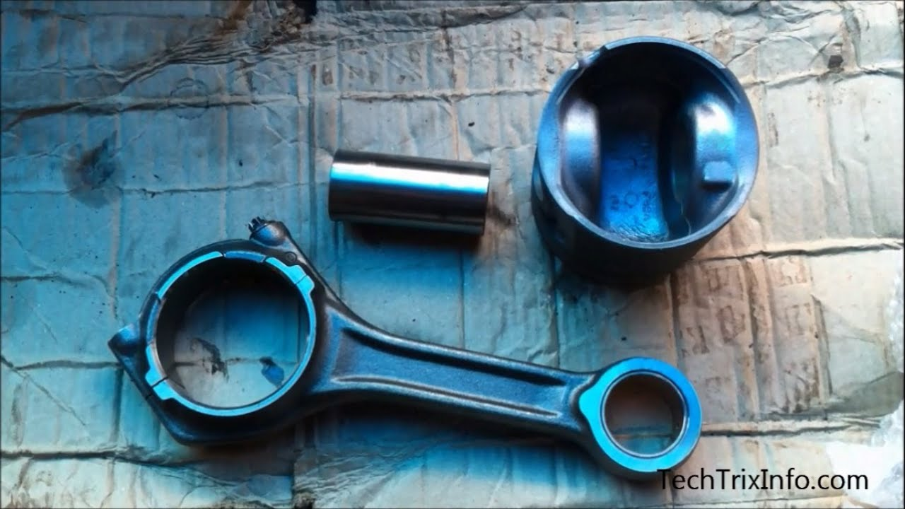 Kia Soul: Piston and Connecting Rod Disassembly