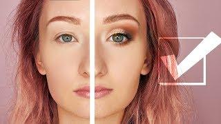 как сделать красивый макияж для маленьких глаз
