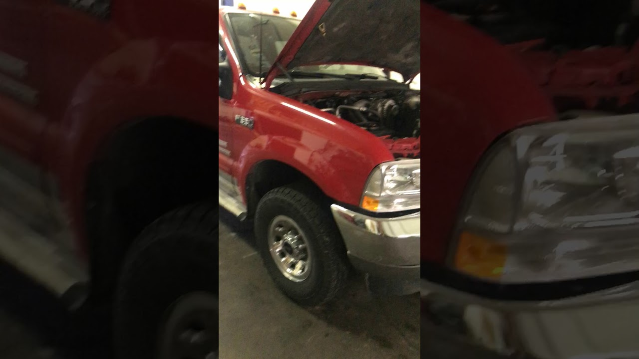 2003 F350 60 Diesel Range Sensor Replacement 4x4 Repair Youtube 2006 F250 Tow Haul Fuse Diagram
