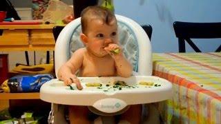 juliette 6 mois 6 months old diversification mene par l enfant dme baby led weaning blw