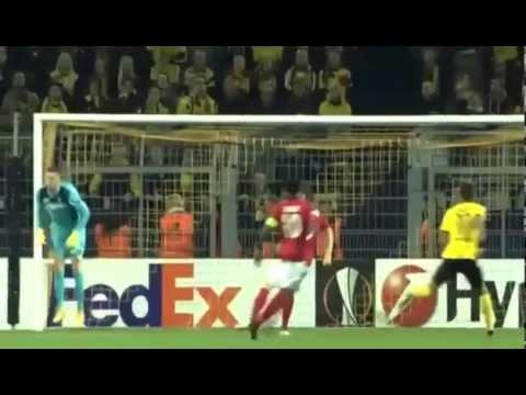 БОРУССИЯ Д - ГАБАЛА 4:0 Обзор матча Лига Европы