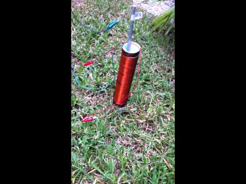 Radiant energy experiment 2