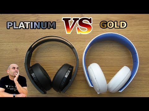 Sony Platinum VS Gold Wireless Headset Review Comparison