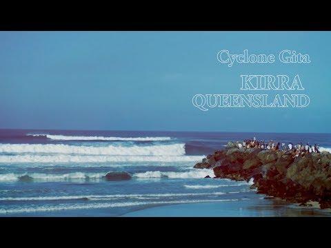 Cyclone Gita - Kirra, Queensland - Part 1