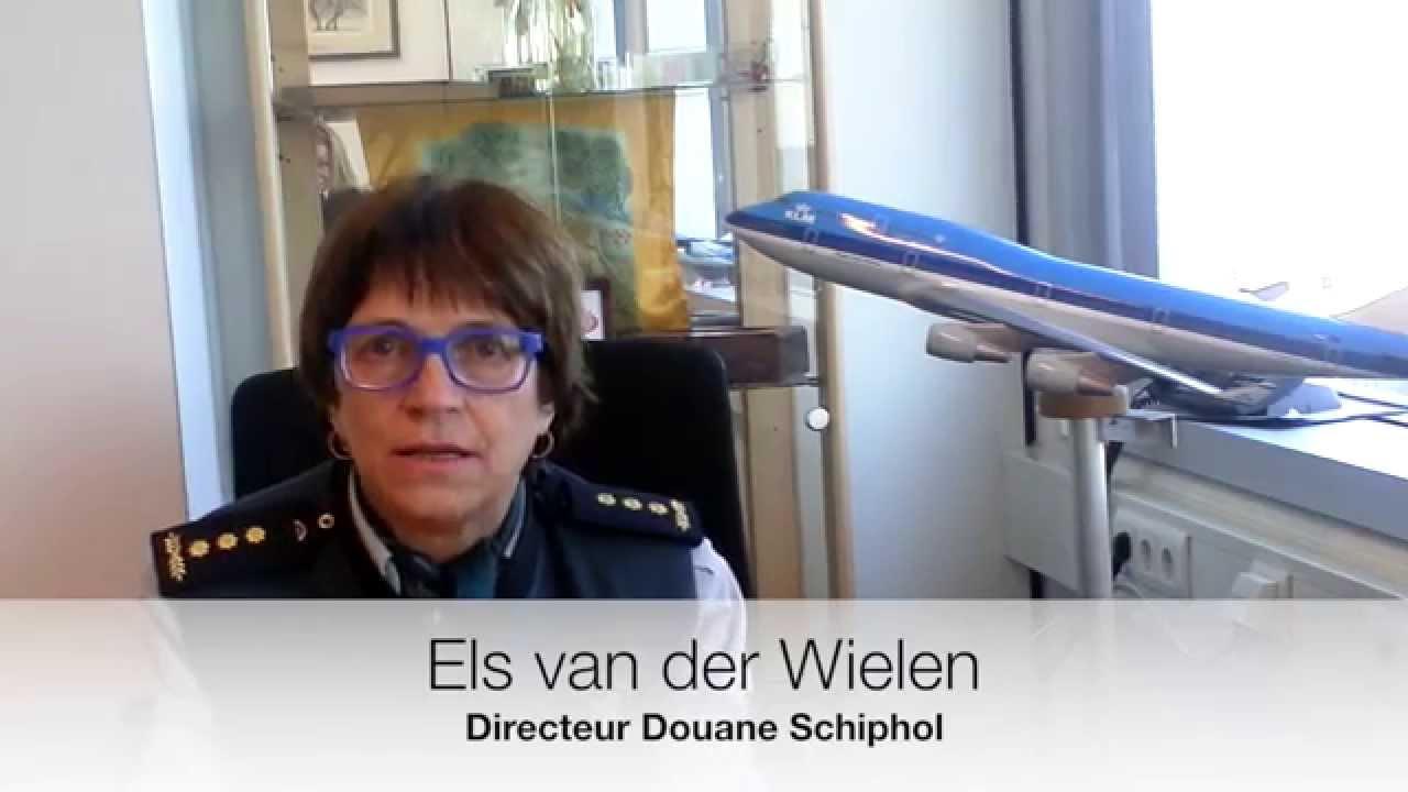 Els van der Wielen, Directeur Douane Schiphol Passagiers ...