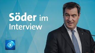 Markus söder im tagesthemen-interview