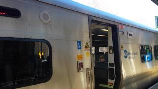 Bombardier M7A train @ Bedford Hills - Harlem Line MTA Metro North Railroad