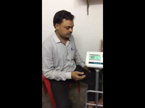 Electronic weighing scale calibration