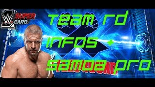 Triple H Team RD Infos + Samoa Joe Event Pro + 2 weitere WM 33 Pro's | WWE Supercard deutsch