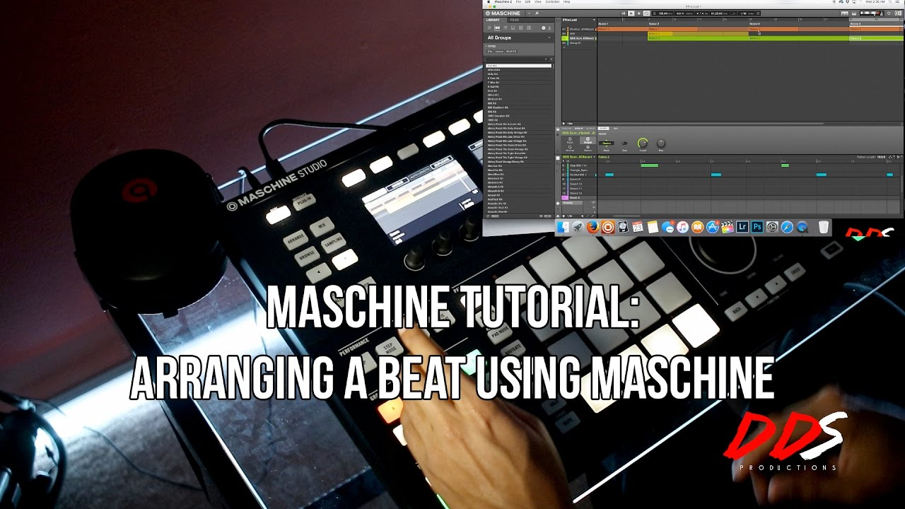 Maschine mk3 tutorials sound selection (beat making from scratch.