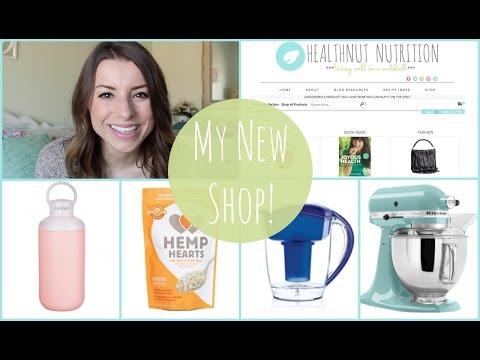 NEW HealthNut Nutrition Shop   Healthy Essentials