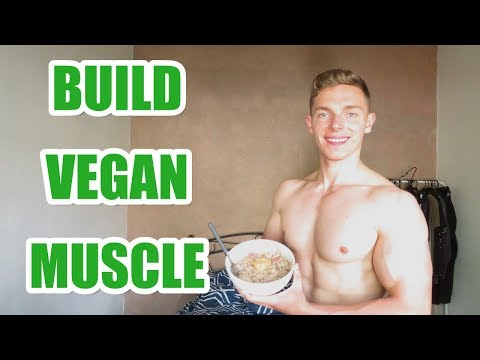 Vegan Full Day Of Eating For Building Muscle