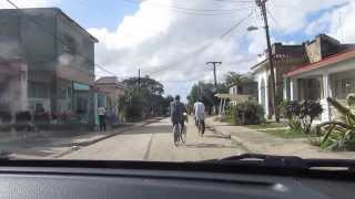 Driving through Florida, Camaguey, Cuba - December 2013