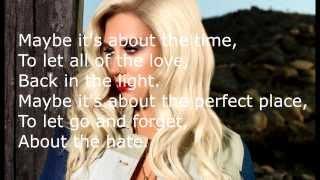 Kesha Love into the light Lyrics HD