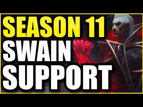 SWAIN SUPPORT is stronger than EVER with these new GIGABURN ITEMS in SEASON 11! 🔥