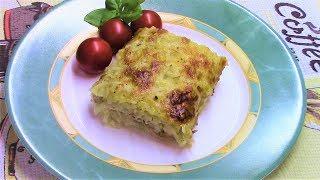 Нежная запеканка из картошки с горбушей со сливочным вкусом - просто и очень вкусно!