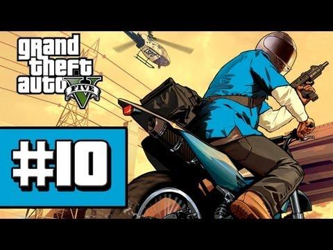 Grand Theft Auto V - Gameplay Walkthrough - Part 10 Friend Request