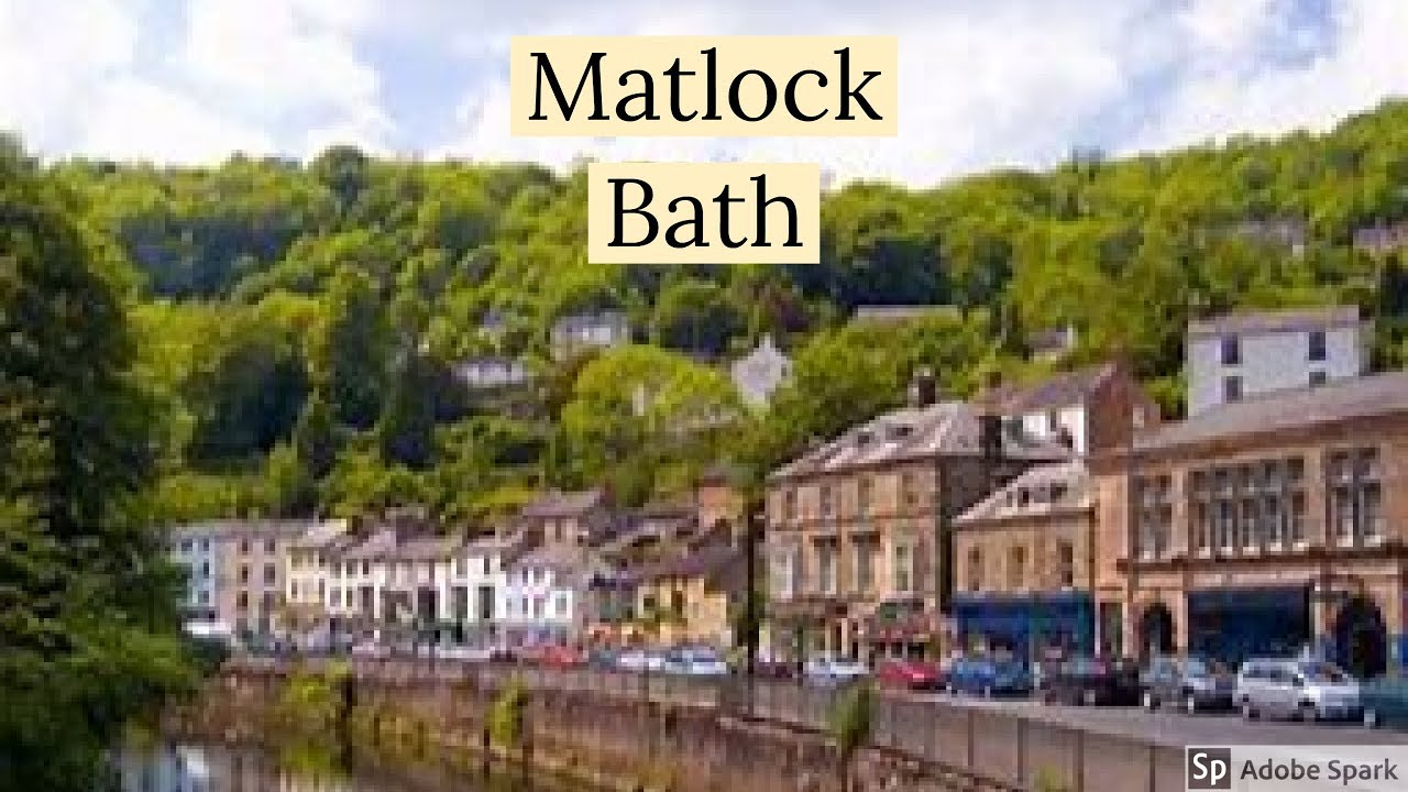 Travel Guide My Day Trips To Matlock Bath Derbyshire UK