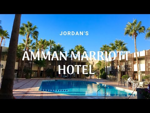 Tour the Grand Hyatt in Amman Jordan
