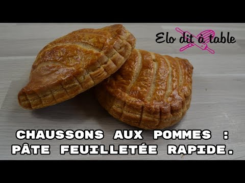 chaussons-aux-pommes-|-pÂte-feuilletÉe-rapide