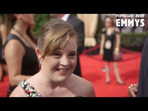Jamie Brewer Has a Special Message For Model Madeline Stuart at the 2015 Emmys