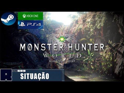 Situação dos eventos no Monster Hunter World thumbnail