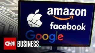 Google, Facebook, Amazon, Apple face antitrust scrutiny