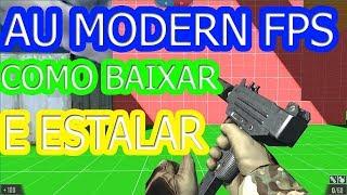 skillwarz-AU MODERN FPS COMO BAIXAR E INSTALAR 2018